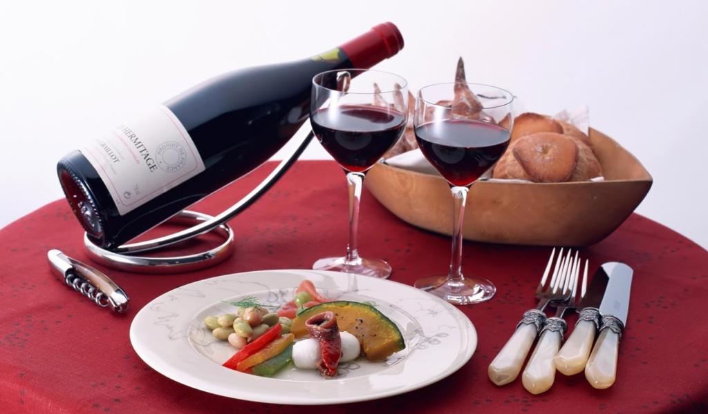 Правила сочетания вина и блюд