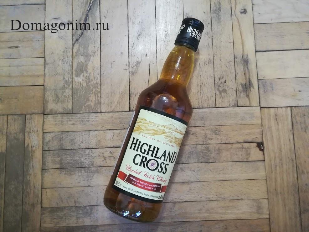 Шотландский виски Highland cross отзыв