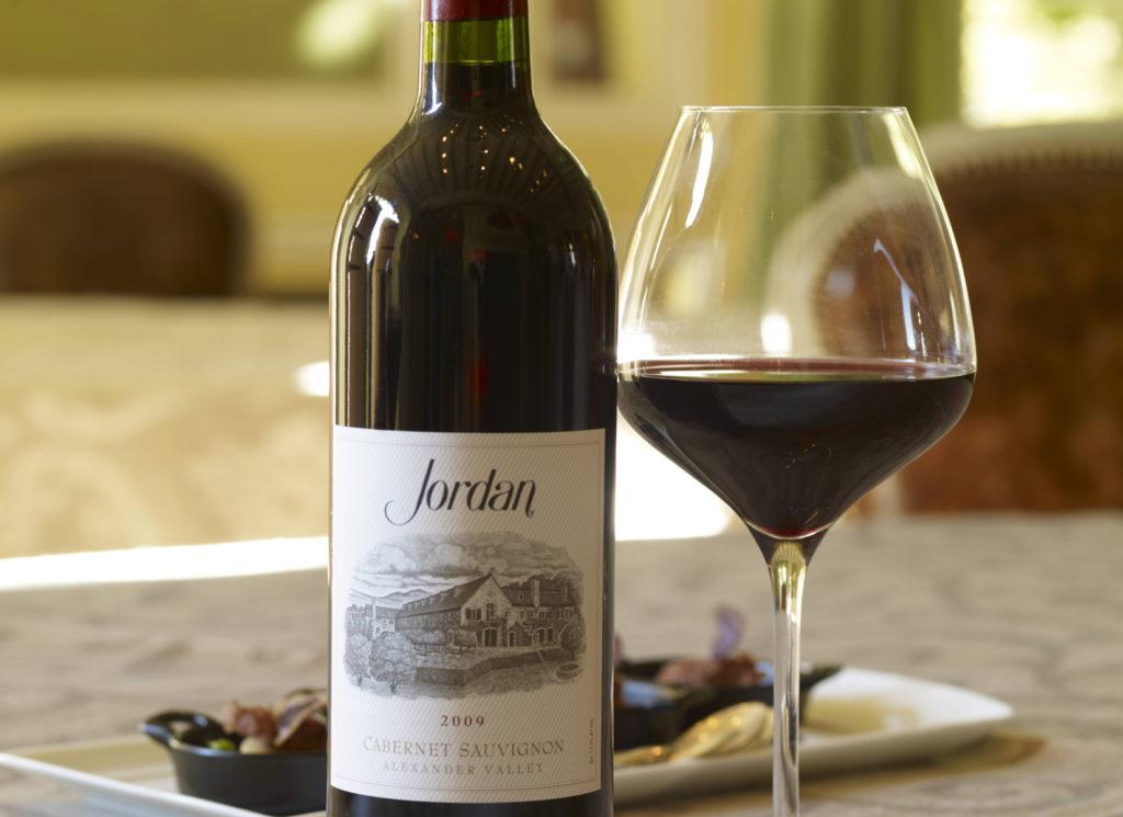 Вино Каберне Совиньон Джордан.  Cabernet Sauvignon Jordan