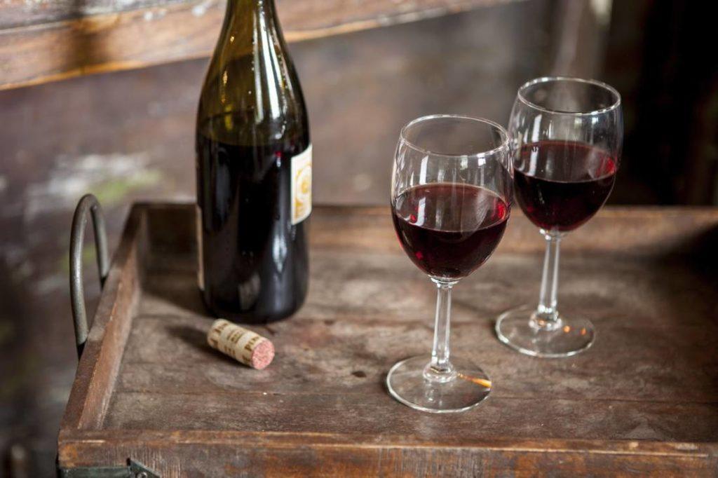 Красное сухое вино своими руками