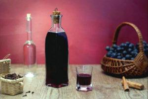 Ликер из красного винограда своими руками