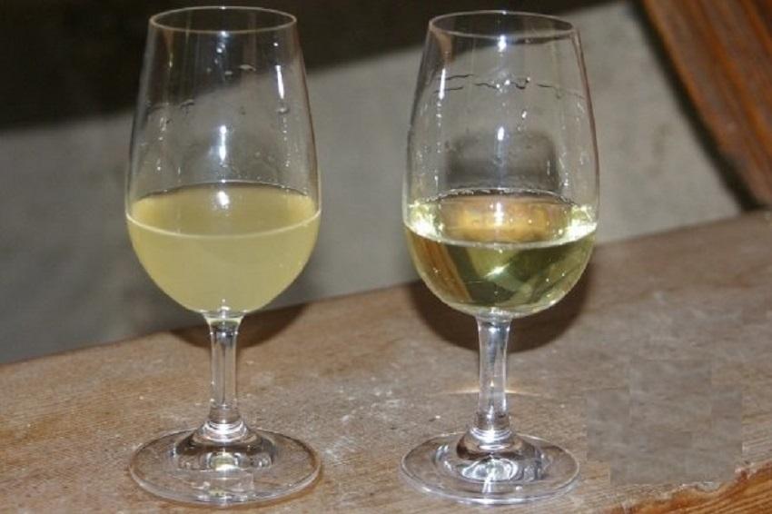 Осветление домашнего вина