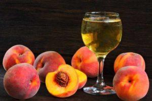 Вино из персиков своими руками в домашних условиях